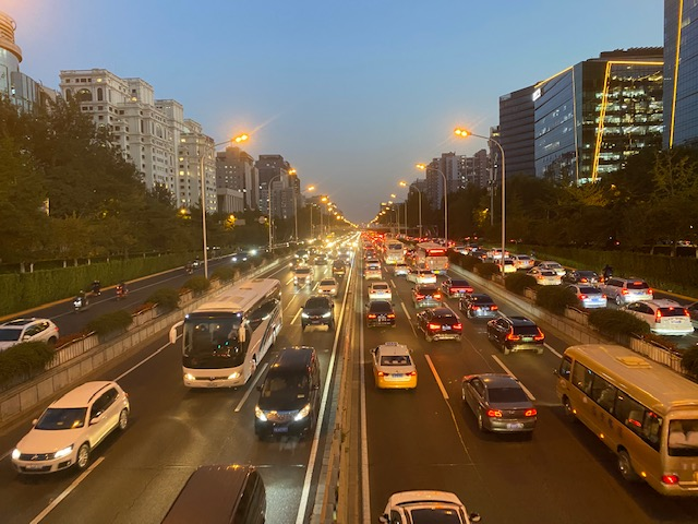 Beijing 2nd Ring Road Oct 2020
